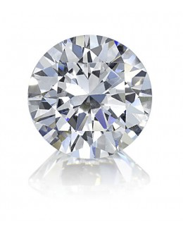 Round Brilliant Cut Diamond 0.90 Carats J SI1 GIA