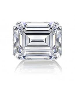 Emerald Cut Diamond 0.60 Carats E SI1 GIA