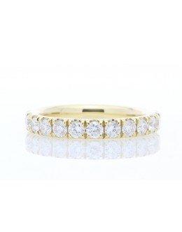 18ct Yellow Gold Full Eternity Diamond Ring 1.94ct Carats