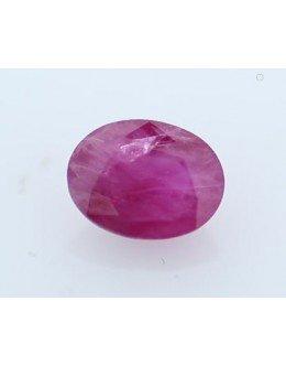 Loose Oval Burmese Ruby 1.68 Carats