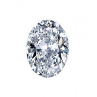 Oval Cut Diamond 1.01 Carats J SI1 GIA